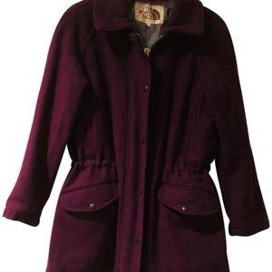 The North Face Purple W-m Pea Coat Medium